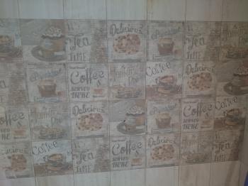Alicatado de pared en cocina